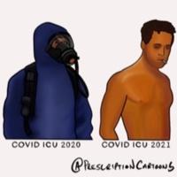 COVID ICU 2020 - COVID ICU 2021