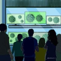 El mundo pendiente de un virus