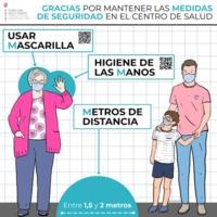 Carteles para los centros de salud de Atención Primaria