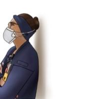 Illustration of healthcare professional 4