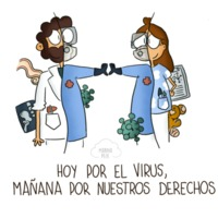 Today for the virus, tomorrow for our rights